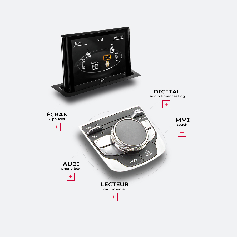 Audi A3 Berline / webdesign