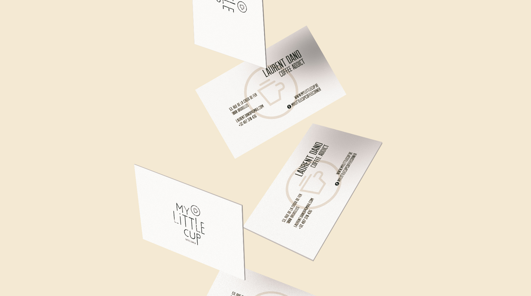 My Little Cup / Coffee Corner / Identity / Art-Director / Logo