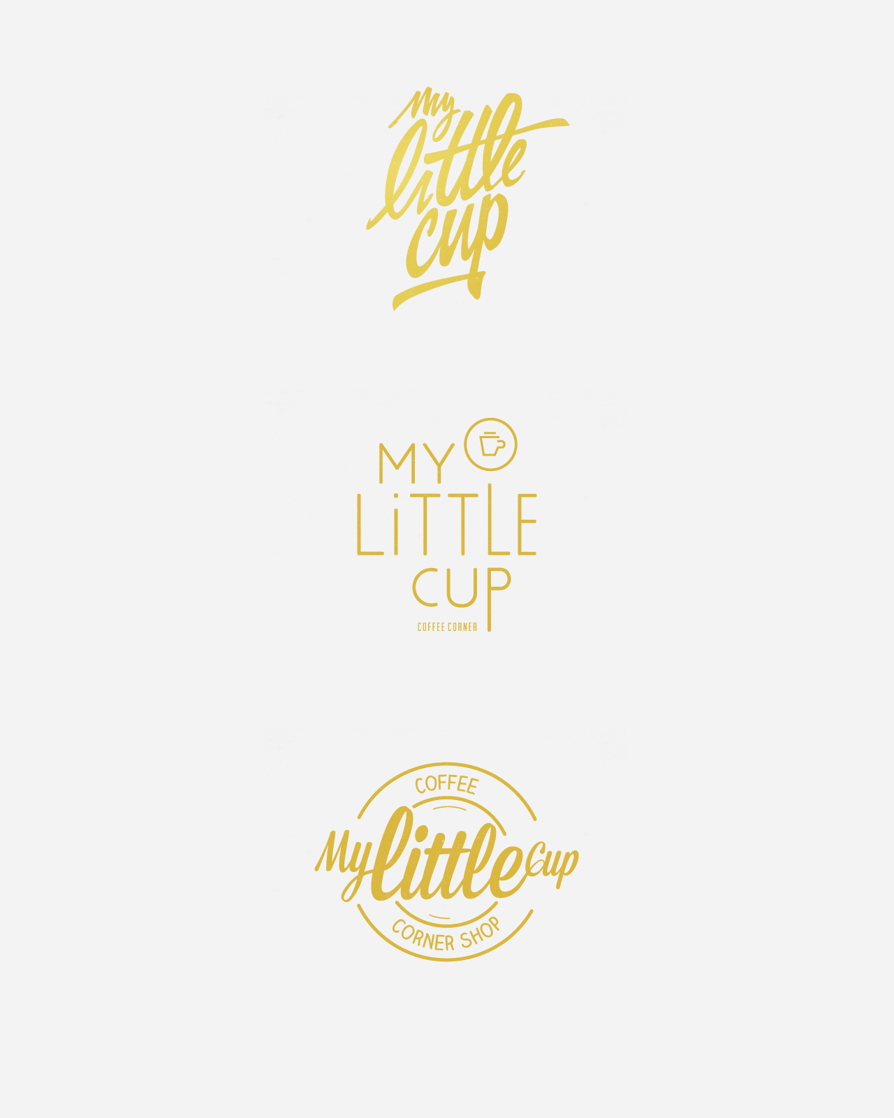 My Little Cup / Coffee Corner / Identity / Art-Director / Logo